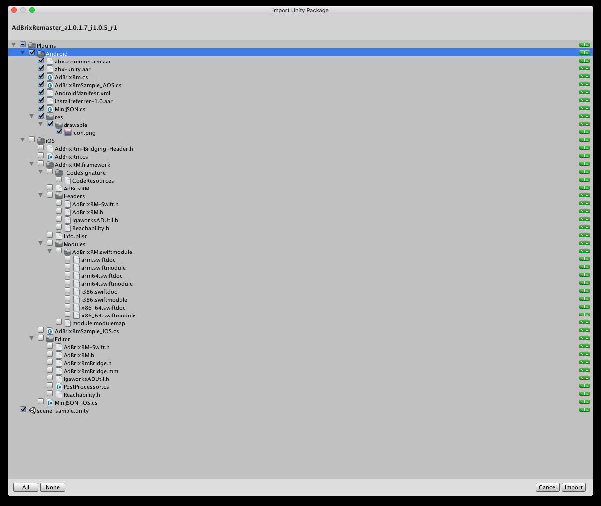 Adbrix Integration [Android Unity] – Adbrix Help Center